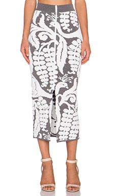 Alice McCall Three Little Birds Skirt in Storm