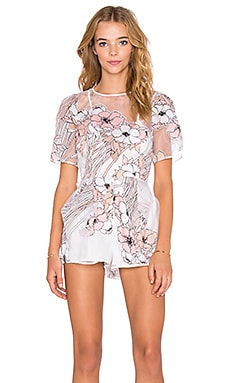 Alice McCall Country Girl Playsuit in Popi