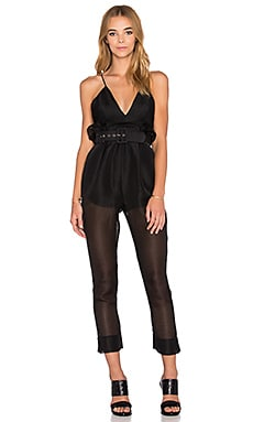 Alice McCall Justify My Love Jumpsuit in Black