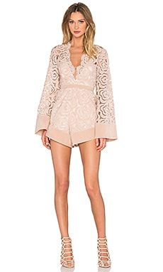 Alice McCall My One And Only Playsuit in Blush