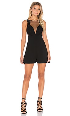Alice McCall Wildest Dreams Romper in Black