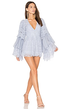 Arizona Playsuit in Periwinkle