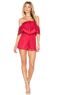 Little Red Corvette Romper