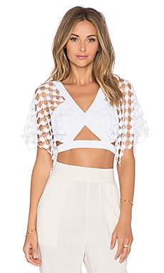Alice McCall What A Wonderful World Top in White