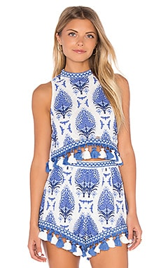 Alice McCall C'est Chic Tank in Blue