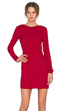 Magdalena Dress in Morello Cherry