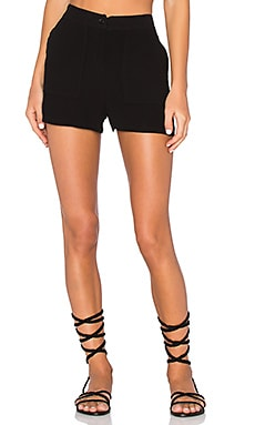 Holiester Short en Noir