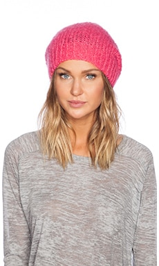 American Vintage Owatonna Beanie in Pink