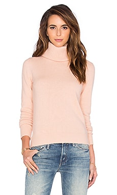 American Vintage Spartow Turtleneck Sweater in Powder