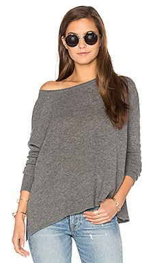 Svansky Pullover in Heather Gray