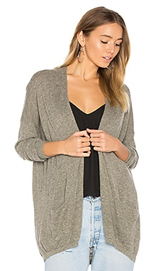 Fiptown Cardigan in Doe Melange