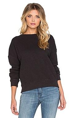 American Vintage Anietow Sweatshirt in Carbon