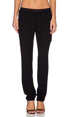 American Vintage Magdalena Slim Pant in Black