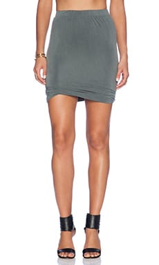 American Vintage Joliette Mini Skirt in Oak