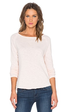American Vintage Sonoma Long Sleeve Tee in Bellini
