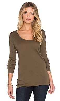 Nouveau Mexique Long Sleeve Tee in Oregano