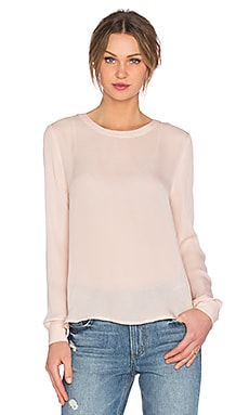 American Vintage Jamestown Long Sleeve Top in Nude