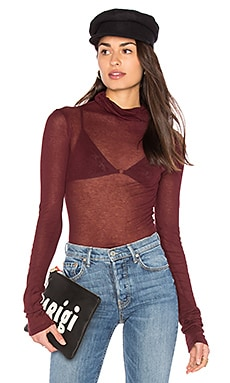 Massachusetts Turtleneck in Syrah