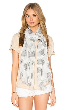 American Vintage Caldwell Scarf in Pearl Bandana