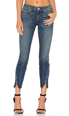 Twist Zip Skinny