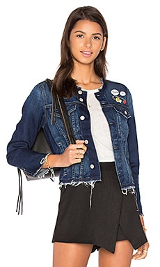 Lola Jacket en True Blue