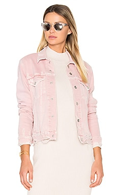 Pop Jacket in Blush