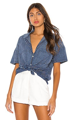 Short Sleeve Boxy Shirt AMO $48