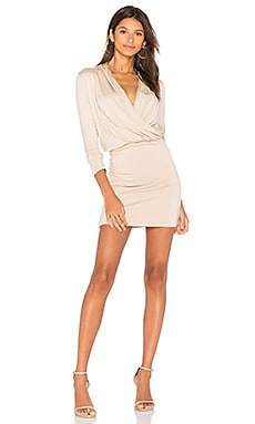 Malvina Dress in Light Sand