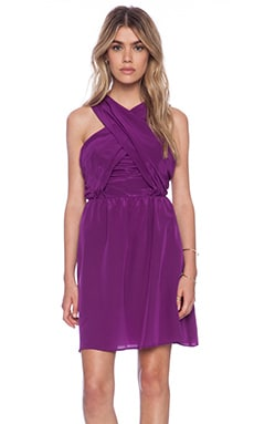 amour vert Ivonne Dress in Purple
