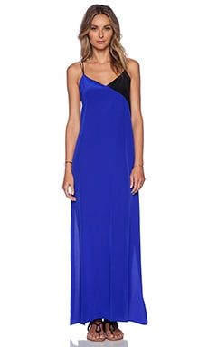 amour vert Franny Dress in Cobalt & Black