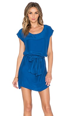 amour vert Orchidee Dress in True Blue
