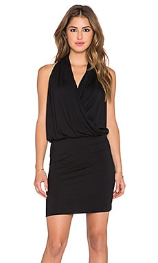 amour vert Aline Dress in Black