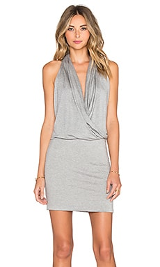 Aline Dress en Gris Chiné