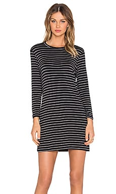 amour vert Mala Striped Dress in Oslo Stripe