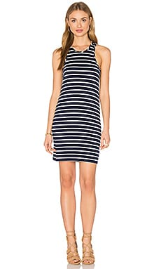 Chrissy Tank Dress in Basque Stripe