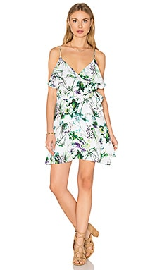 amour vert Barrett Wrap Dress in Tropical