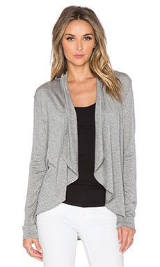 amour vert Michaela Cardigan in Heather Grey