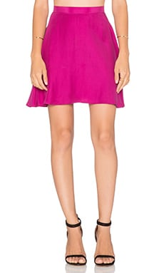 amour vert Leeron Skirt in Fucshia Purple