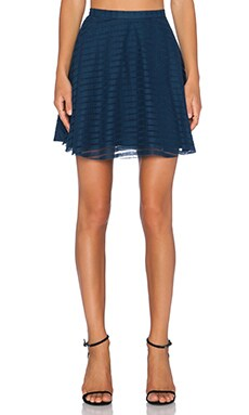 amour vert Lota Skirt in Navy Burnout