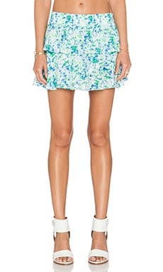 amour vert Nala Skirt in Green Triangle Print