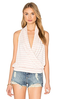 Agnes Top en Rose Stripe