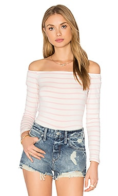 Shae Top in Rose Stripe