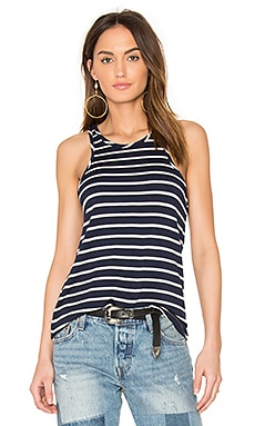 Martina Tank in Basque Stripe