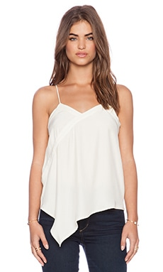 amour vert Heather Tank in Ivory