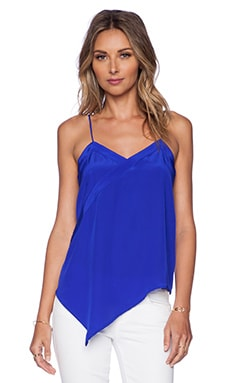 Heather Tank in Cobalt