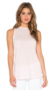 amour vert Dallas Tank in Pale Pink