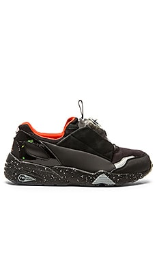 Alexander McQueen Puma McQ Disc in Black Black Orchid Pink
