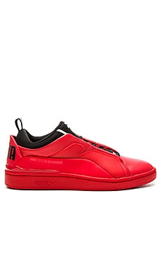 Alexander McQueen Puma MCQ Brace Lo in High Risk Red & Puma Black & High Risk Red