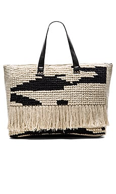 AMUSE SOCIETY Weekend Bag in Black Sands