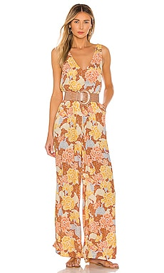 Bliss Tank Woven Jumpsuit AMUSE SOCIETY $67